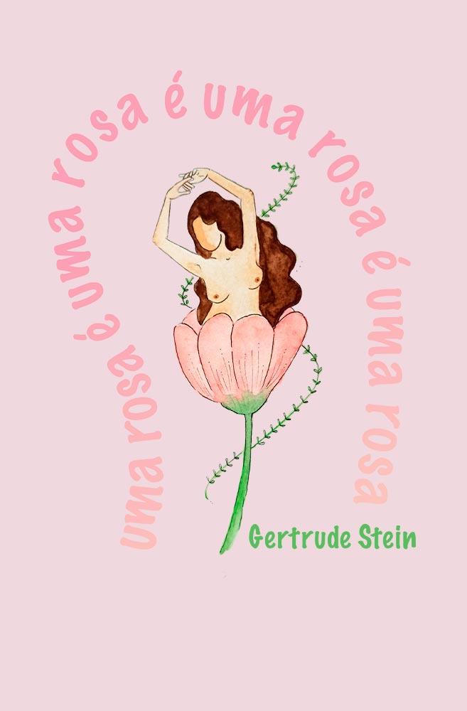 Camiseta Rosa Uma Rosa de Gertrude Stein