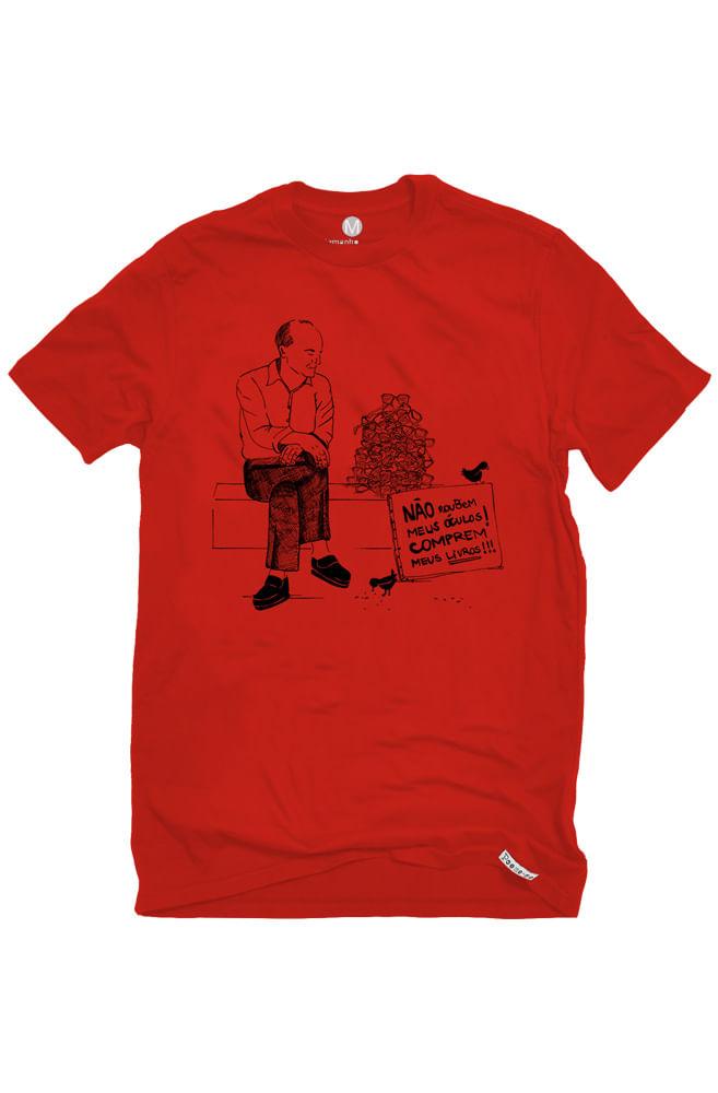 Camiseta Vermelha Drummond