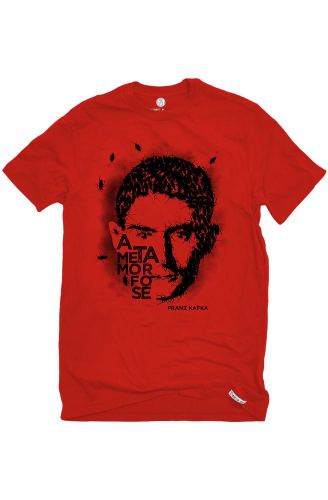 Camiseta Vermelha Kafka
