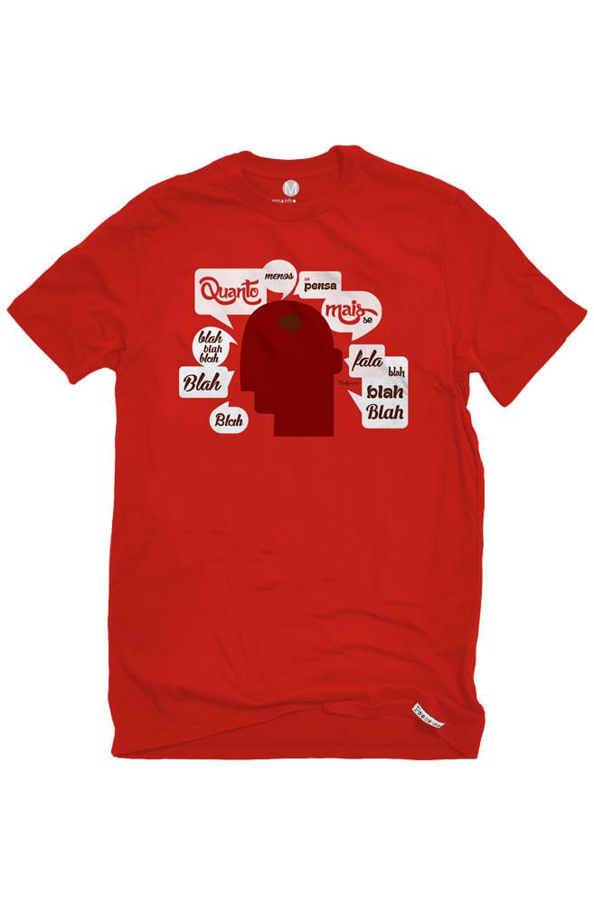 Camiseta Vermelha Montesquieu