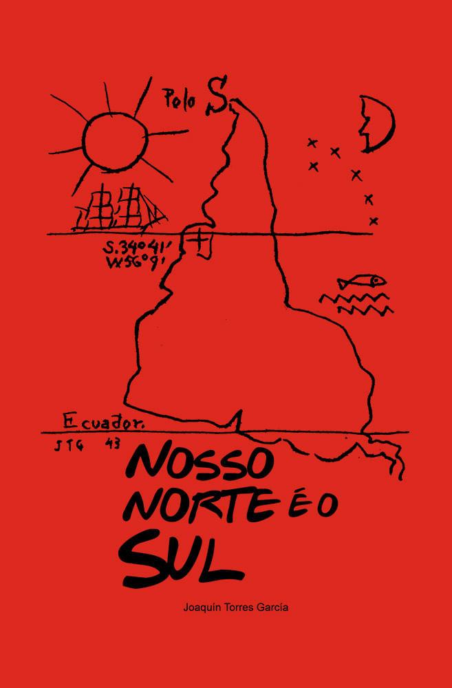 Camiseta Vermelha Nosso Norte é o Sul