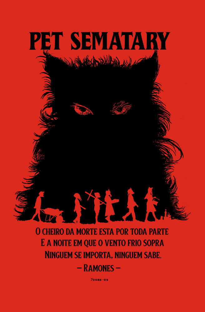 Camiseta Vermelha Pet Sematary