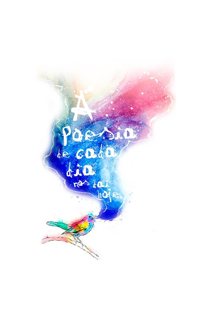 Caneca A Poesia de Cada Dia