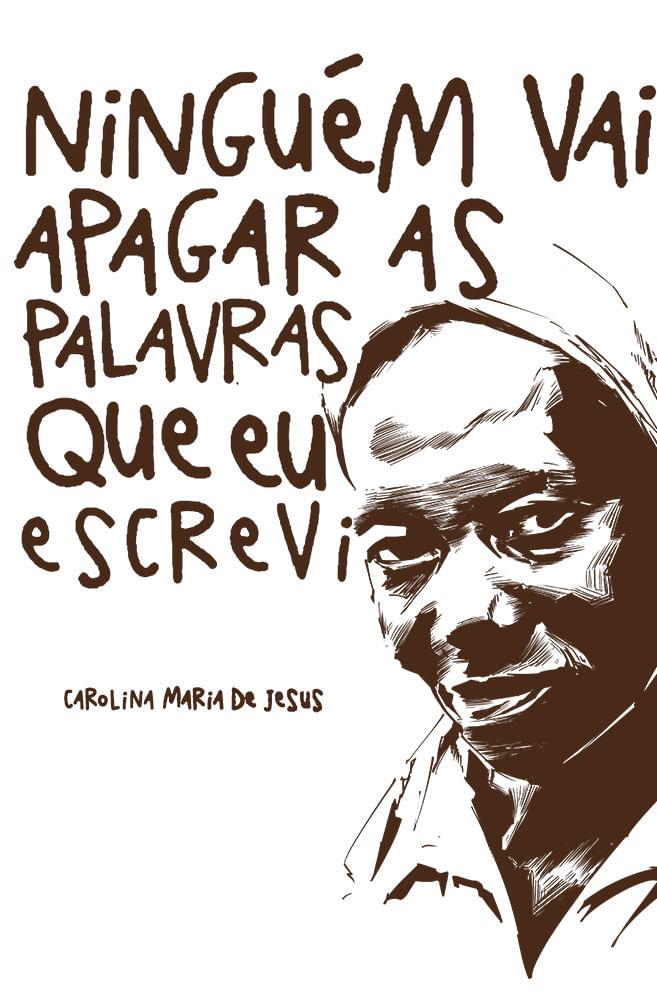 Caneca Carolina Maria de Jesus