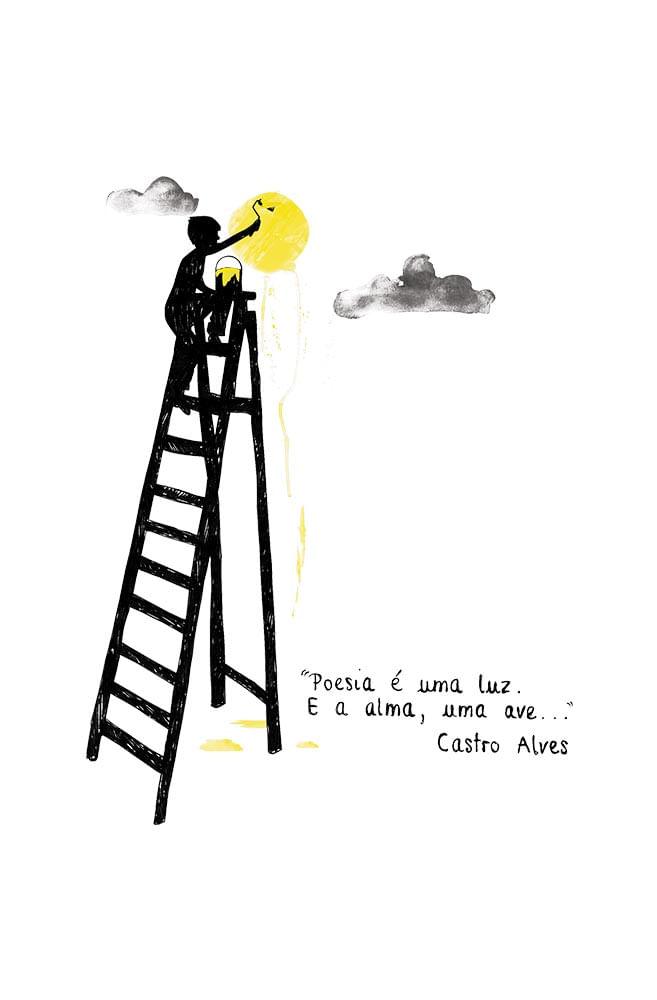 Caneca Castro Alves