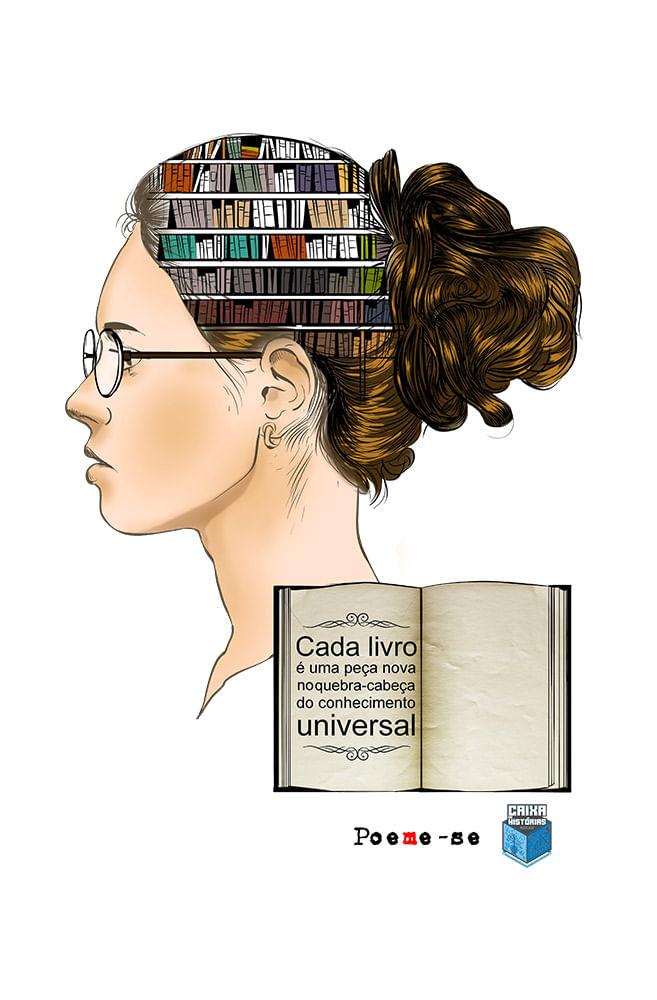 Caneca Conhecimento Universal