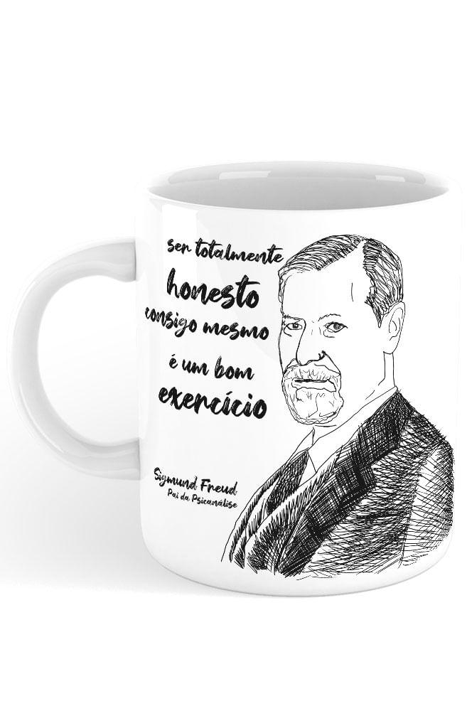 Caneca Freud, pai da psicanálise