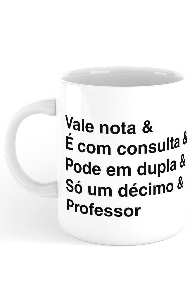 Caneca Helvética Professor