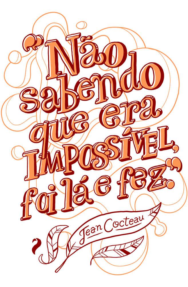 Caneca Jean Cocteau