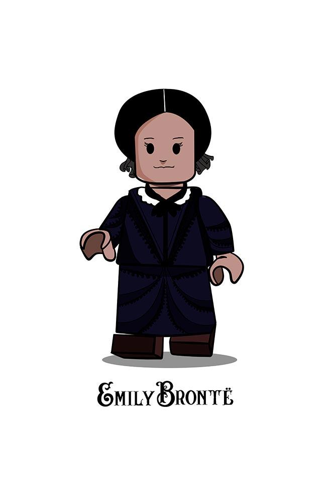 Caneca Lego Emily Bronte