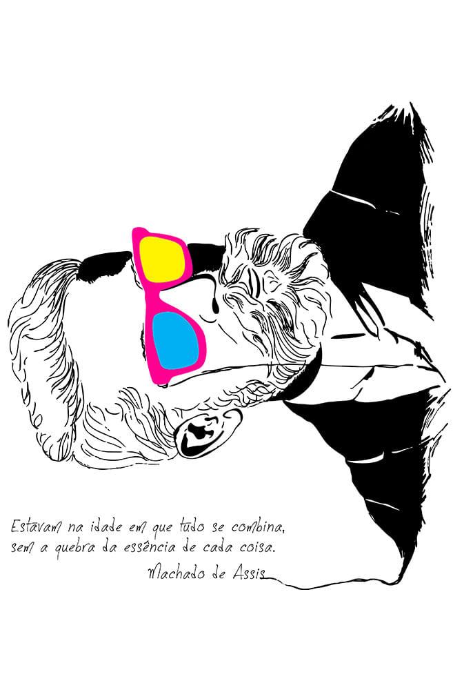 Caneca Machado de Assis