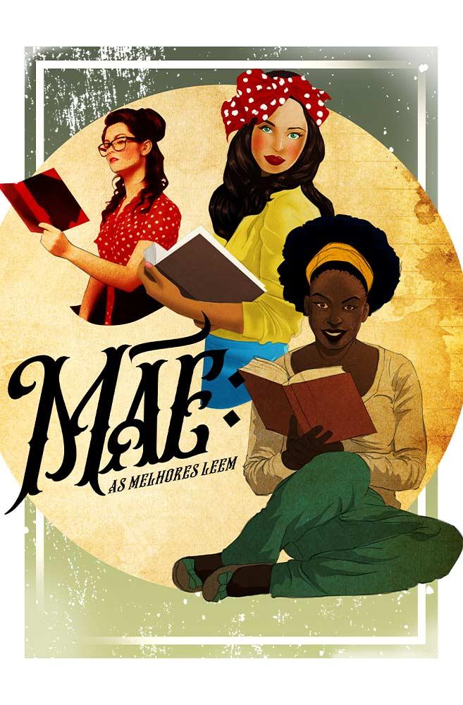 Caneca Mães que leem
