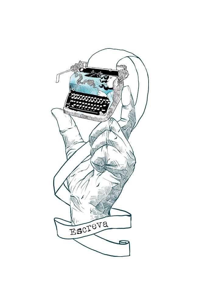 Caneca Máquina de Poemas