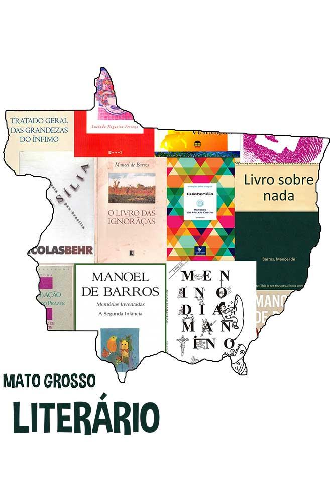 Caneca Mato Grosso Literário
