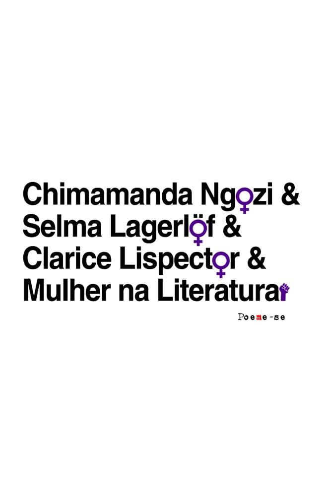 Caneca Mulheres na Literatura