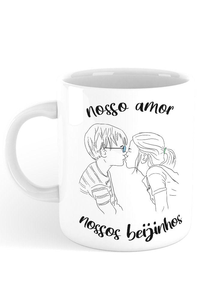 Caneca Nossos Beijinhos