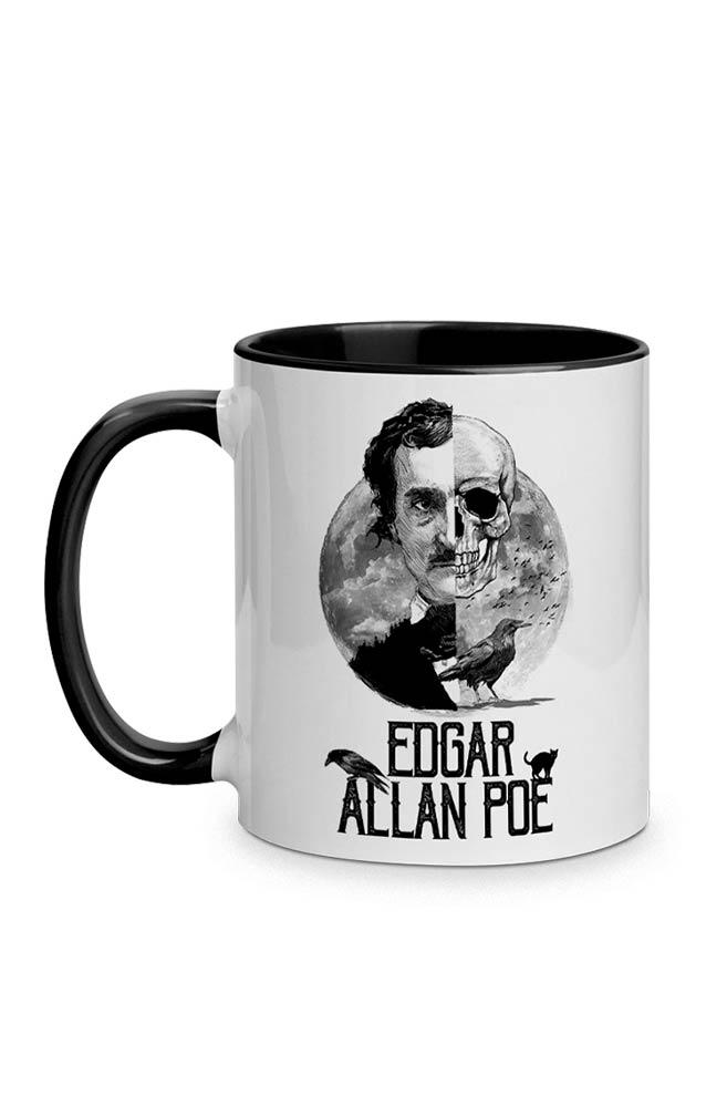 Caneca Os Mistérios de Poe com alça preta