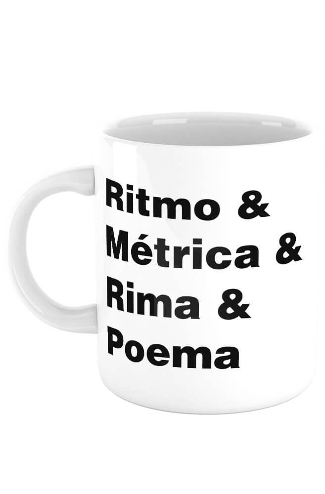 Caneca Ritmos & Métrica & Rima