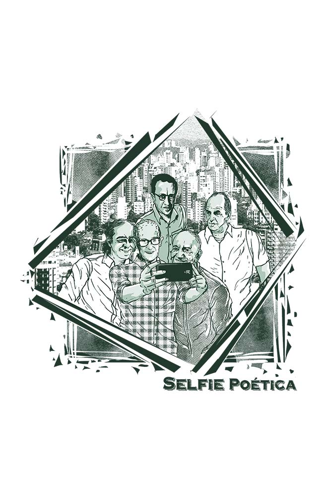 Caneca Selfie poética
