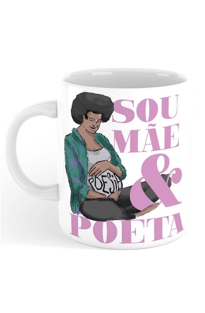 Caneca Ser mãe poeta