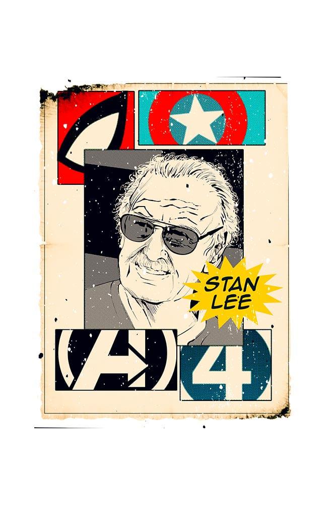 Caneca Stan Lee