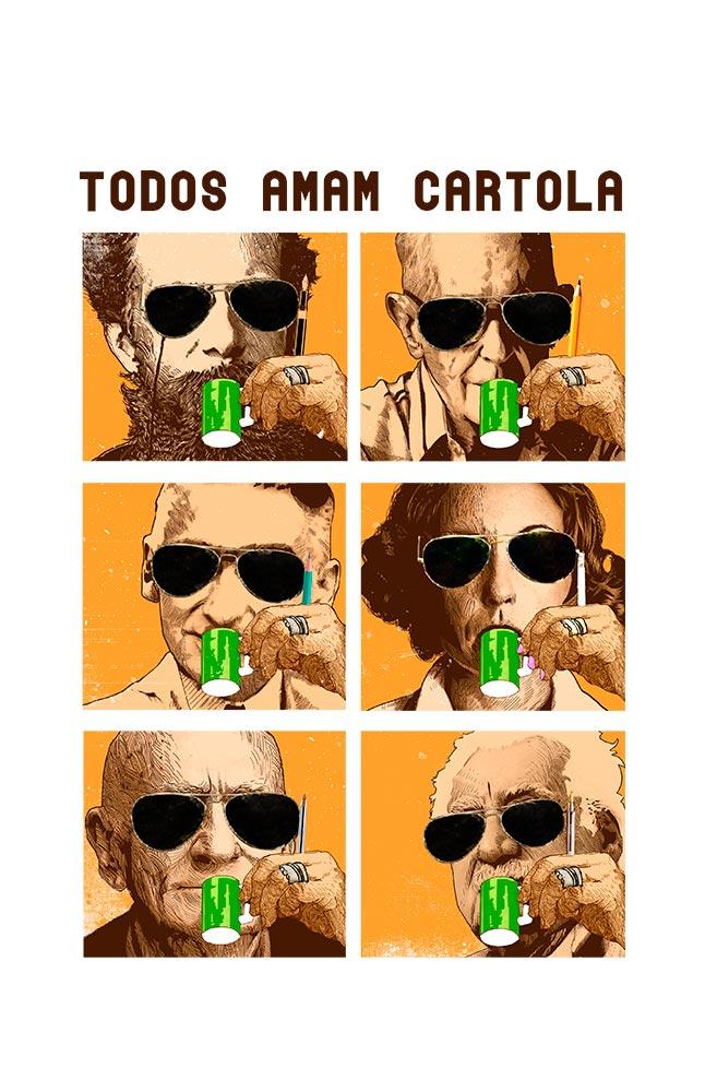 Caneca Todos Amam Cartola