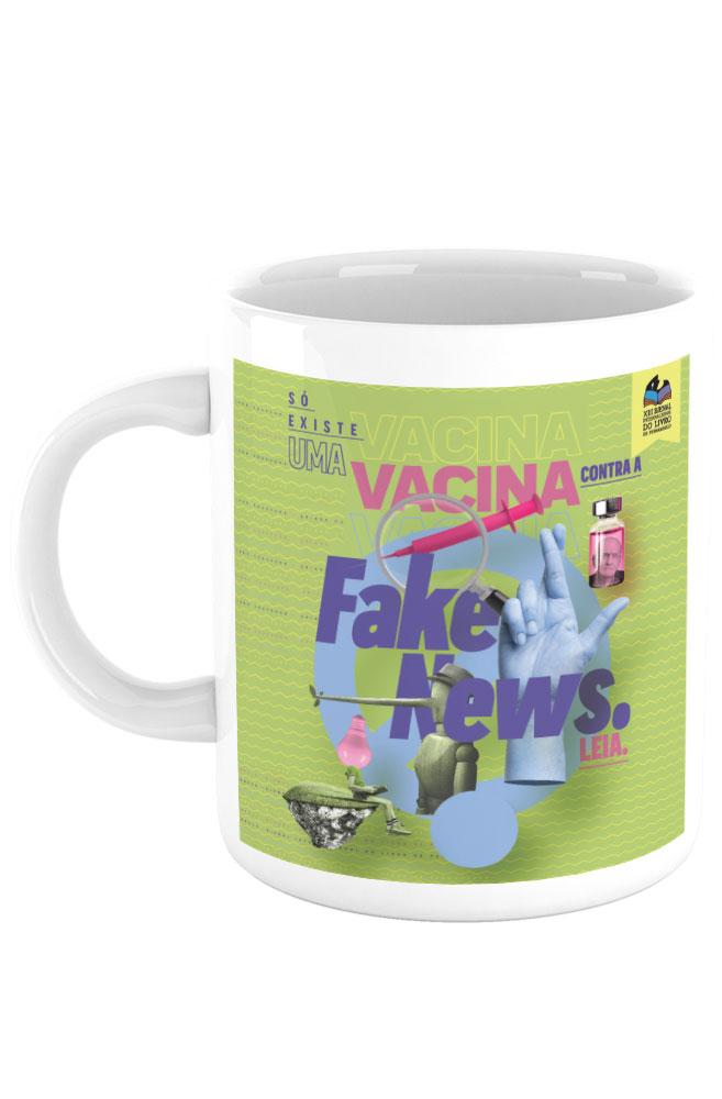 Caneca Vacina contra Fake News