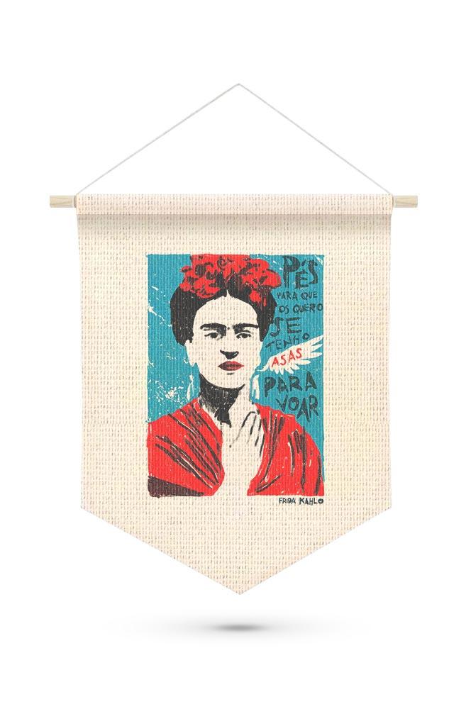 Flâmula Frida Kahlo