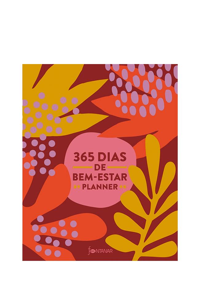 Livro 365 dias de bem-estar: Planner