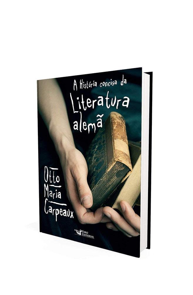 Livro A história concisa da literatura alemã