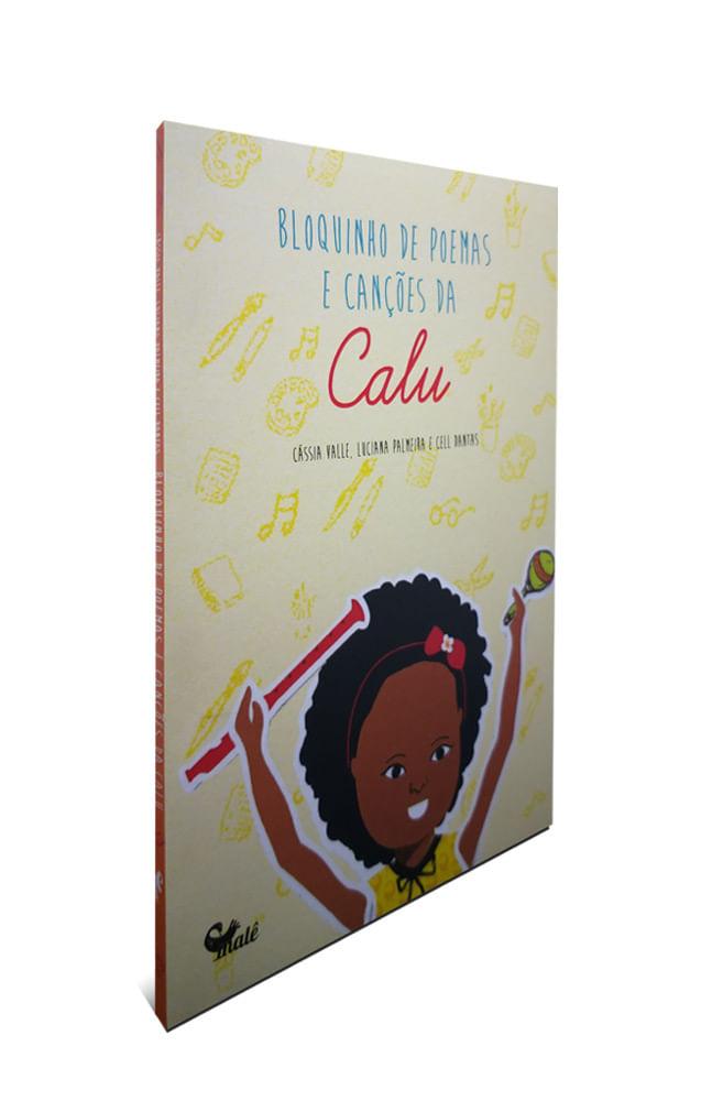 Livro Bloquinhos De Poemas E Canções Da Calu