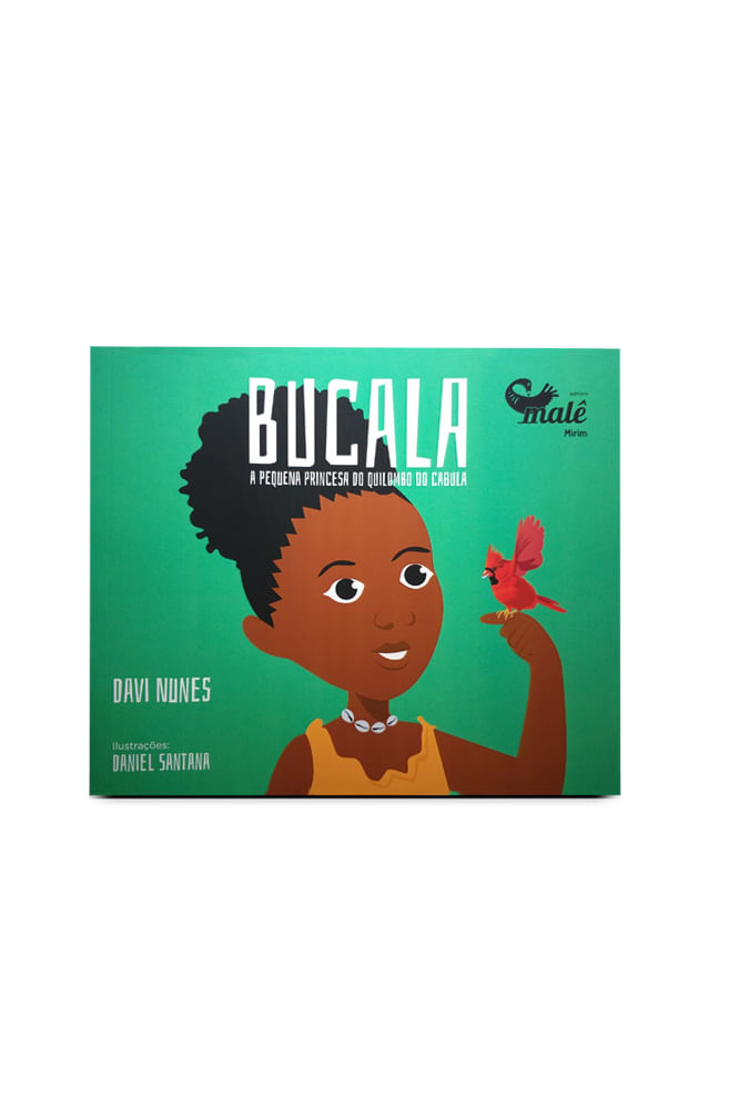 Livro Bucala: A pequena princesa do quilombo do Cabula