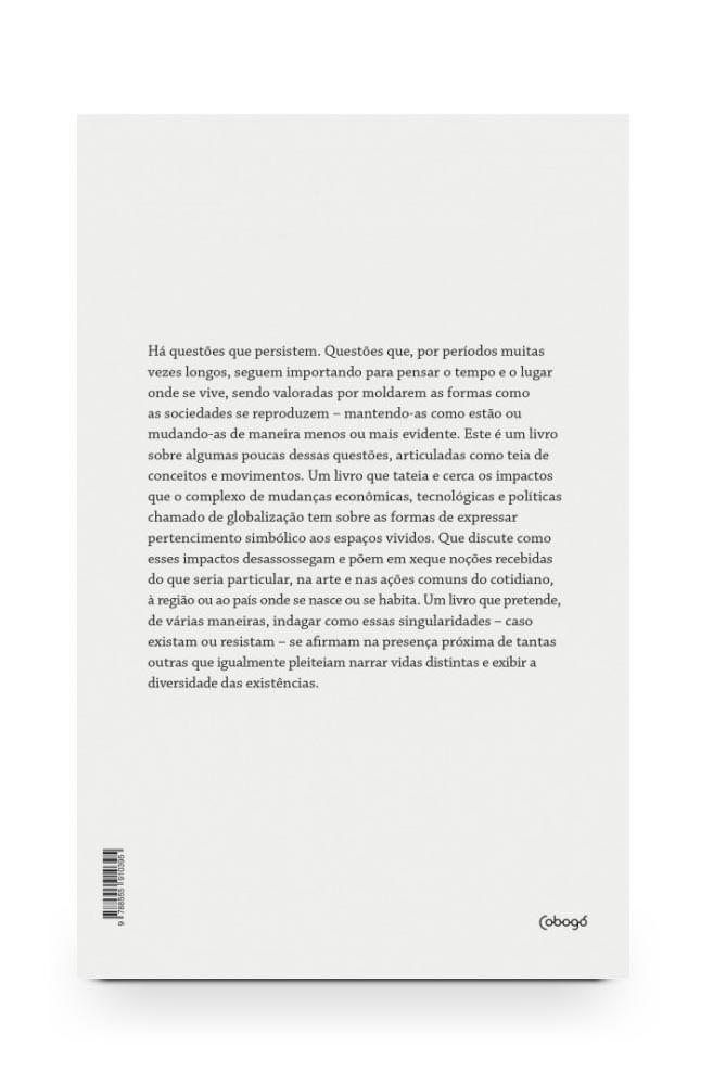 Livro Contraditório: arte, globalização e pertencimento
