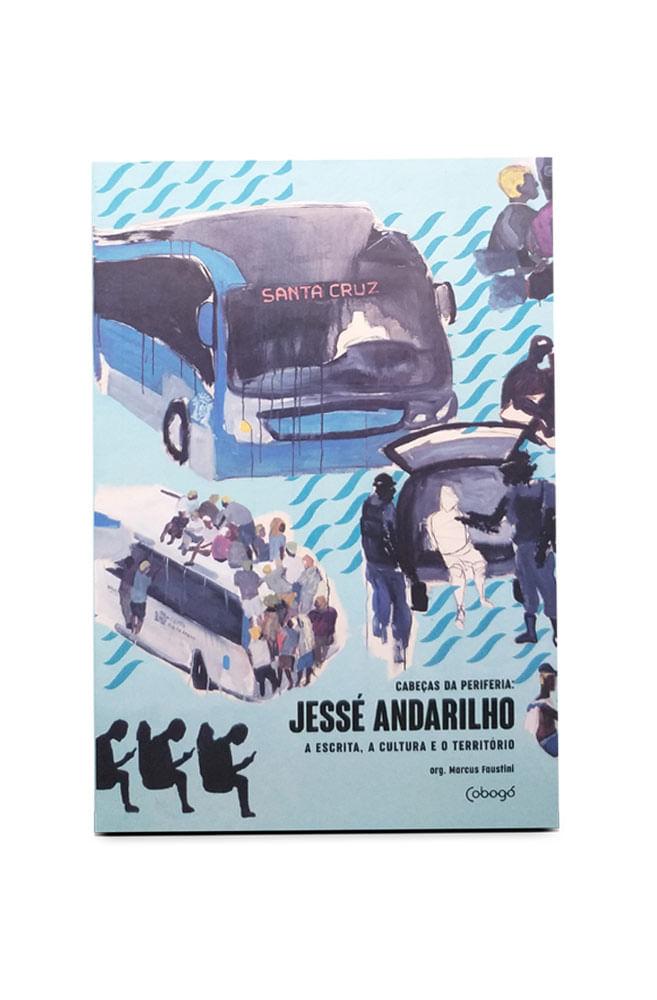 Livro Jessé Andarilho, a escrita, a cultura e o território