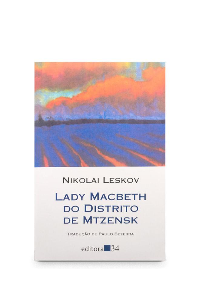 Livro Lady Macbeth do distrito de Mtzensk