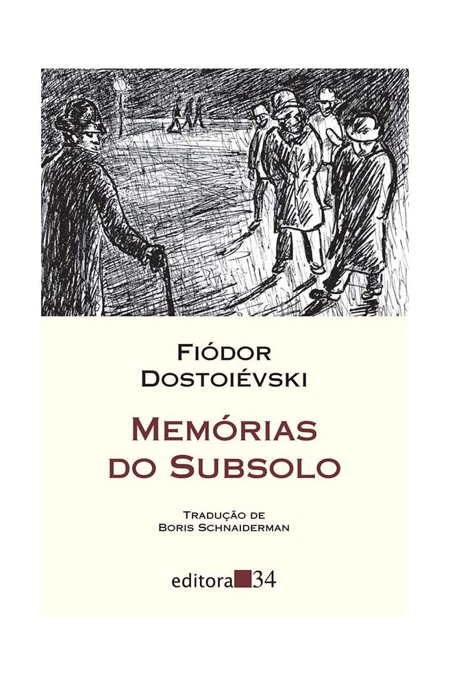 Livro Memórias do subsolo