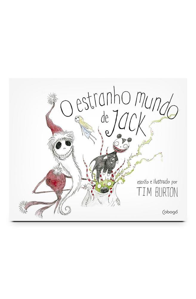 Livro O estranho mundo de Jack