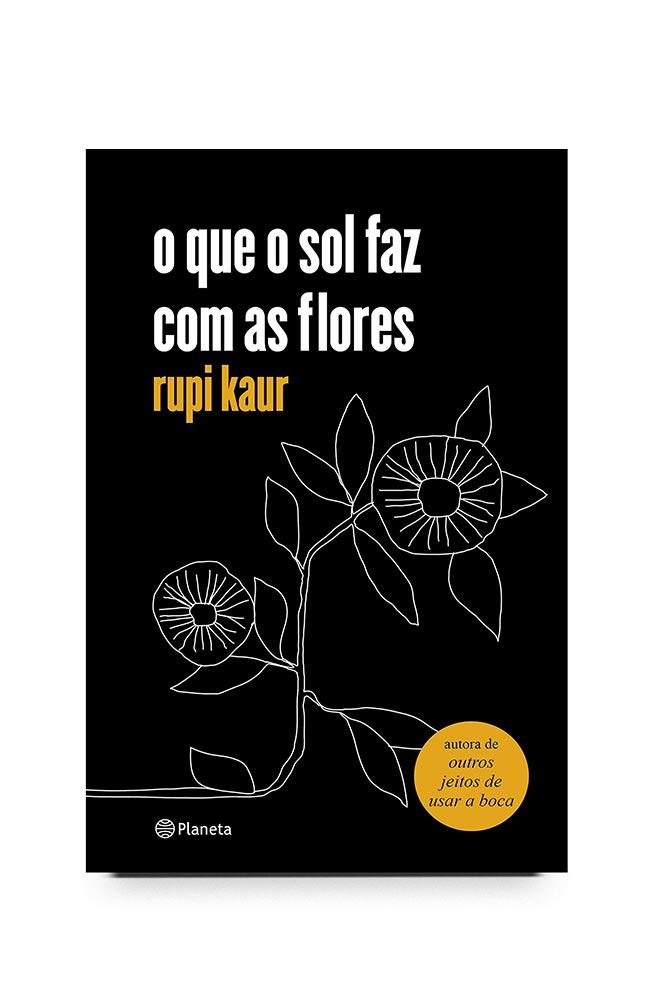 Livro o que o sol faz com as flores