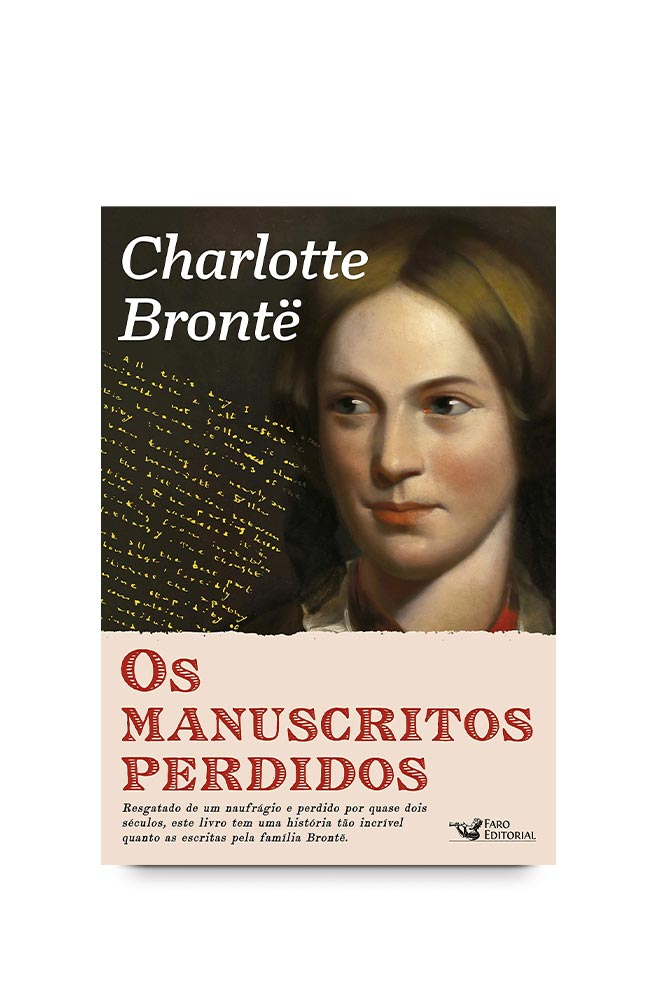 Livro Os manuscritos perdidos de Charlotte Brontë
