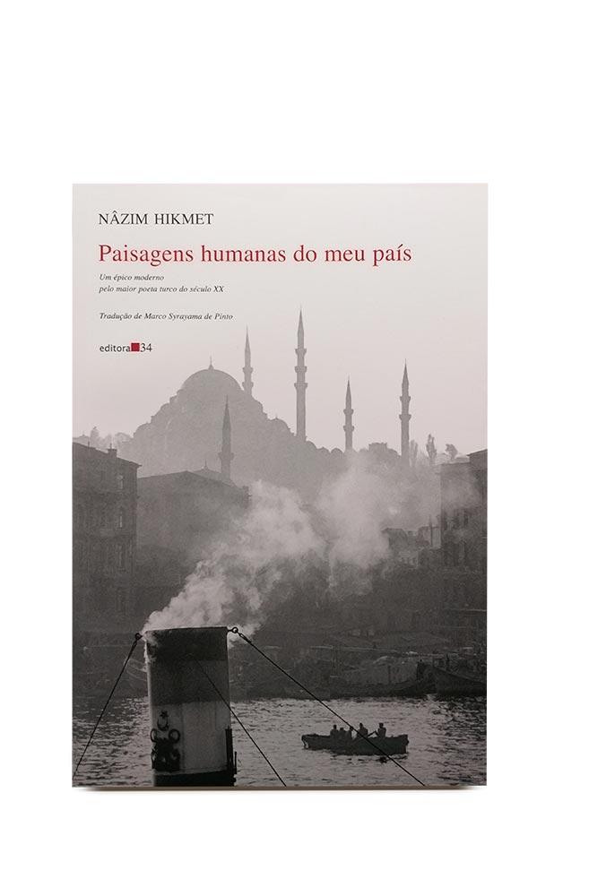 Livro Paisagens humanas do meu país