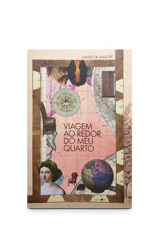Livro Viagem ao redor do meu quarto