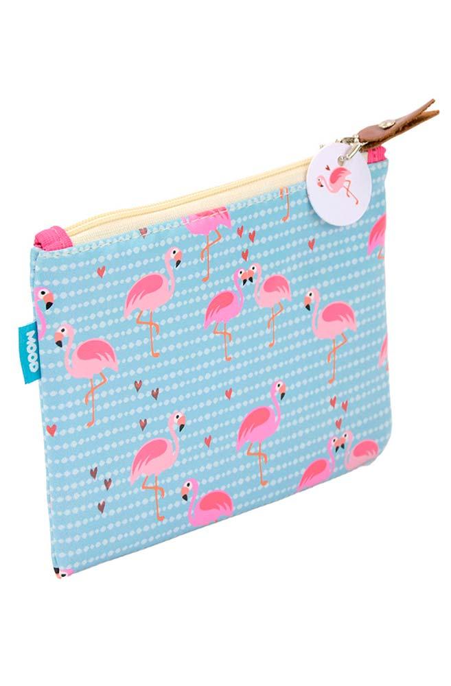 Necessaire literária Flamingo
