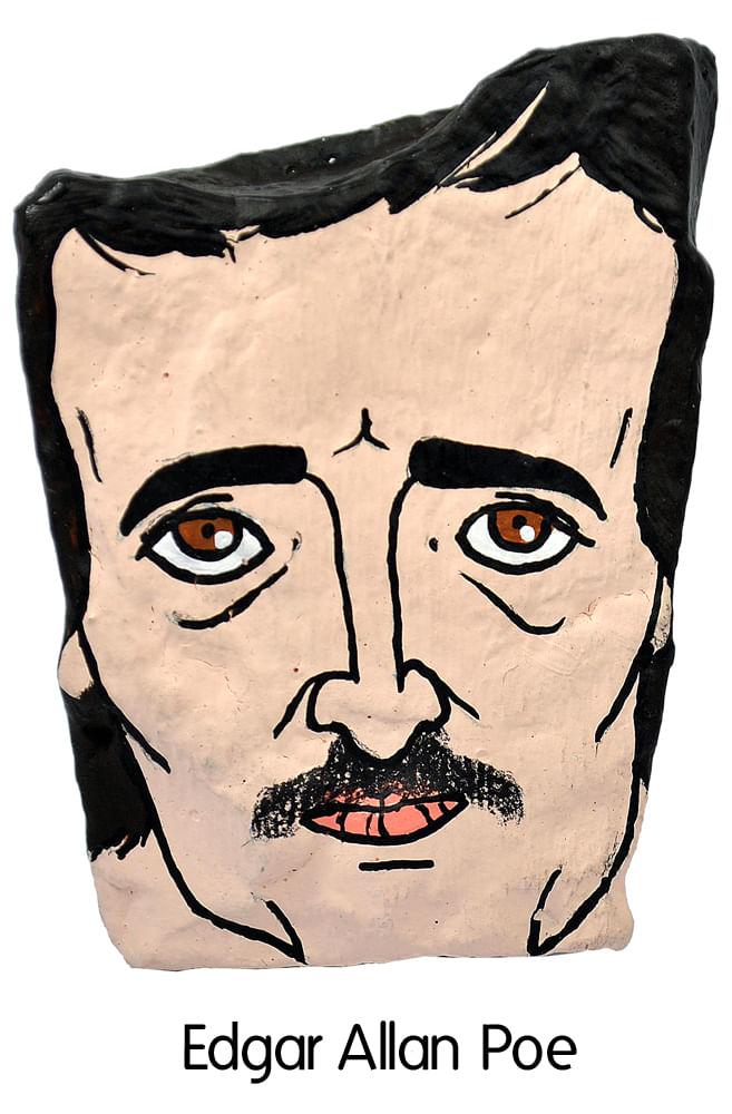 Pedra Poética Allan Poe