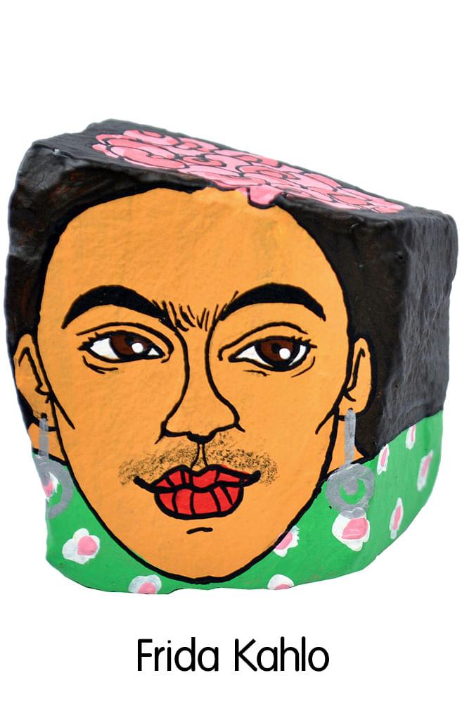 Pedra Poética Frida Kahlo