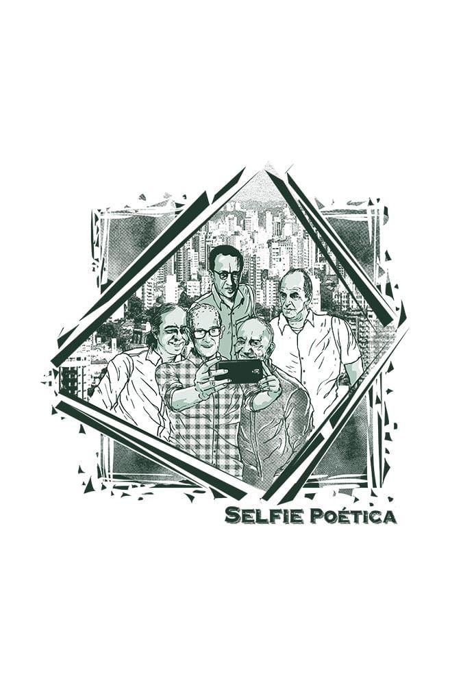 Porta Copos Selfie Poética