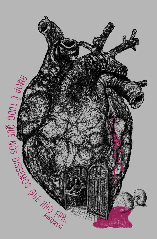 Pôster Amor segundo Bukowski