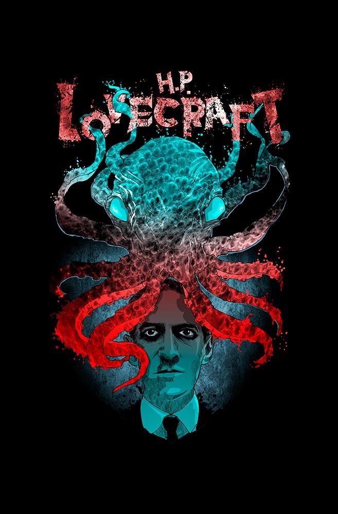 Pôster H.P.Lovecraft