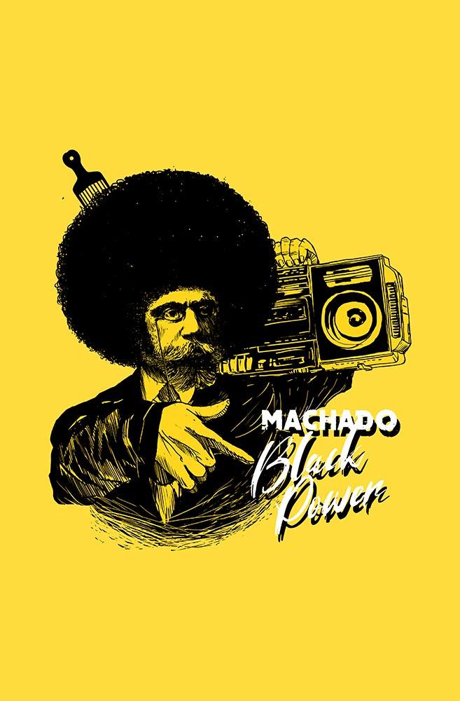 Pôster Machado Black Power