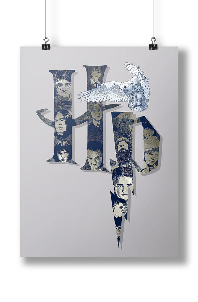 Pôster O Fantástico Harry Potter