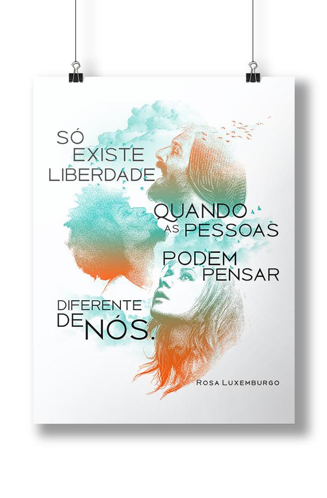 Pôster Rosa Luxemburgo